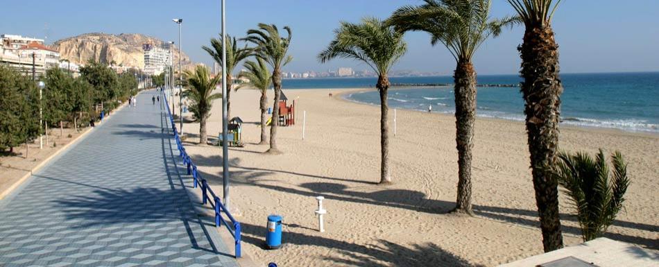 Playa del Postiguet (Turismo Alicante)